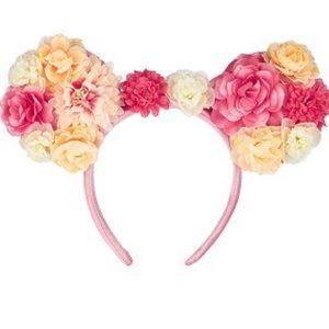 Flower and Garden Minnie Ears